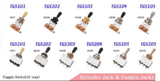 Toggle Switches - Toggle Switches Suppliers from guitar parts depot