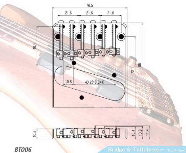 electric guitar bridges electric guitar bridges suppliers from guitar parts depot. Black Bedroom Furniture Sets. Home Design Ideas